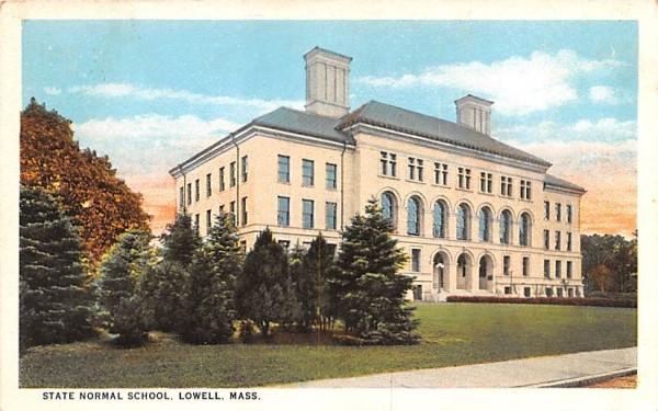 State Normal SchoolLowell, Massachusetts Postcard