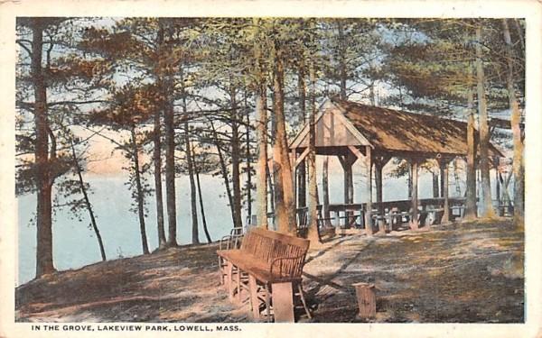 In the GroveLowell, Massachusetts Postcard
