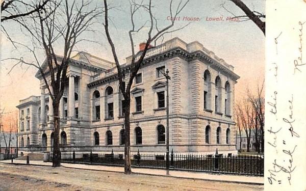 Court HouseLowell, Massachusetts Postcard
