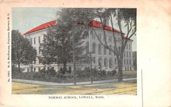 Normal SchoolLowell, Massachusetts Postcard