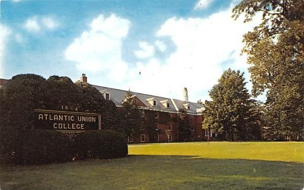 Atlantic Union College Lancaster, Massachusetts Postcard