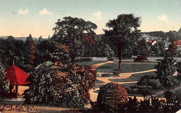 Fort Hill Park Lowell, Massachusetts Postcard