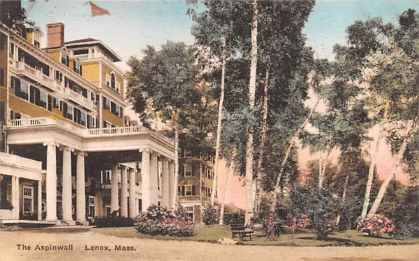 The Aspinwall Lenox, Massachusetts Postcard