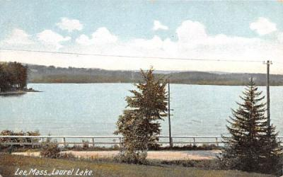 Laurel LakeLee, Massachusetts Postcard