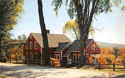 The Nathaniel Hawthorne House at TanglewoodLenox, Massachusetts Postcard
