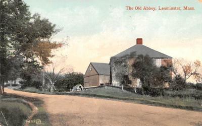 The Old AbbeyLeominster, Massachusetts Postcard