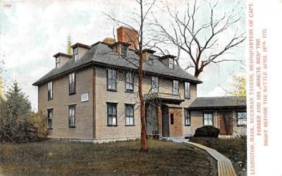 Buckman TavernLexington, Massachusetts Postcard