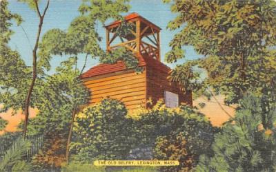 The Old BelfryLexington, Massachusetts Postcard