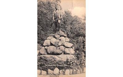 The Minute Man StatueLexington, Massachusetts Postcard