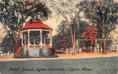 Band StandLynn, Massachusetts Postcard
