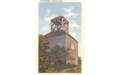 The Old Belfry Lexington, Massachusetts Postcard