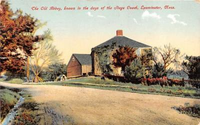 The Old Abbery  Leominster, Massachusetts Postcard