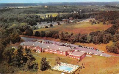 The Lexington Motor Inn Massachusetts Postcard