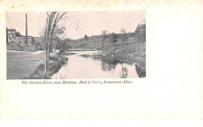 The Nashua River Leominster, Massachusetts Postcard