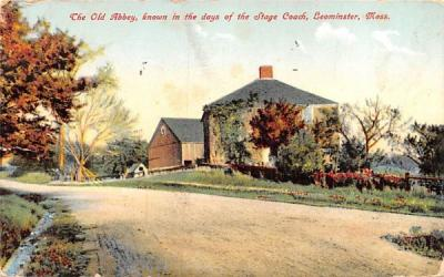 The Old Abbey Leominster, Massachusetts Postcard