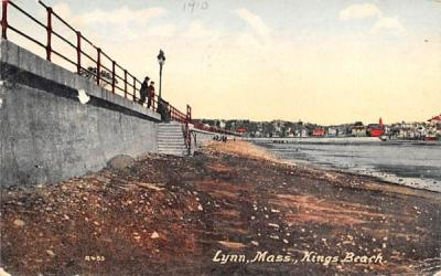 Kings Beach Lynn, Massachusetts Postcard