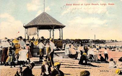 Band Stand at Lynn Beach Massachusetts Postcard