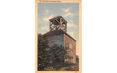 The Old Belfry Lexington, Massachusetts Postcard