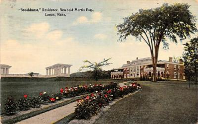 Brookhurst Lenox, Massachusetts Postcard