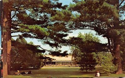 The Music Shed Lenox, Massachusetts Postcard