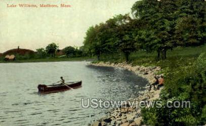 Lake Williams - Marlboro, Massachusetts MA Postcard
