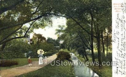 Mountain Ave. Park - Malden, Massachusetts MA Postcard