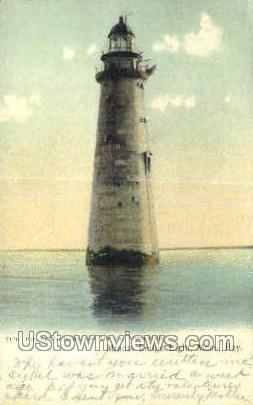 Minots Ledge Light - Misc, Massachusetts MA Postcard
