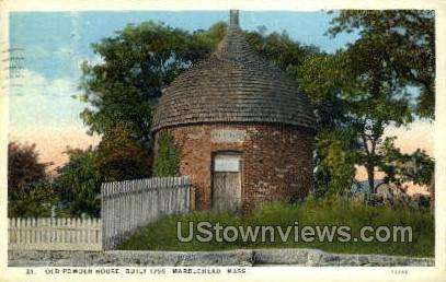 Old Powder House, 1755 - Marblehead, Massachusetts MA Postcard