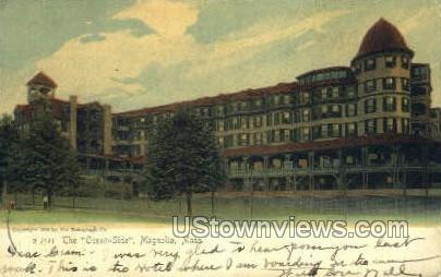 The Ocean-Side - Magnolia, Massachusetts MA Postcard