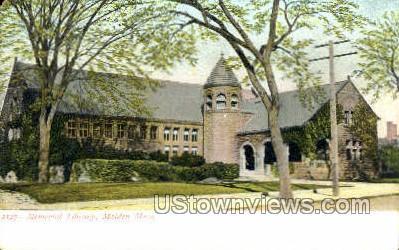 Memorial Hall - Malden, Massachusetts MA Postcard