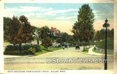 State Blvd. - Malden, Massachusetts MA Postcard