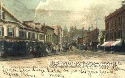 Pleasant St. - Malden, Massachusetts MA Postcard