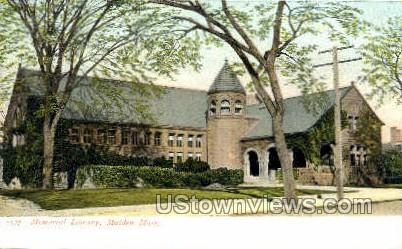 Memorial Library - Malden, Massachusetts MA Postcard