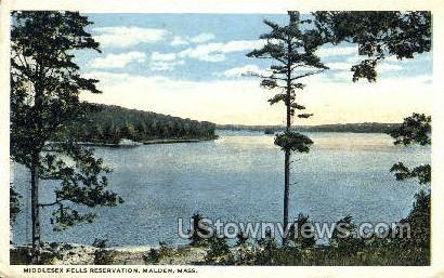 Middlesex Fells Reservation - Malden, Massachusetts MA Postcard