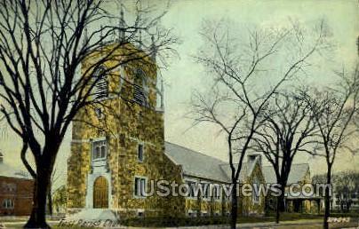 First Parish Church - Malden, Massachusetts MA Postcard