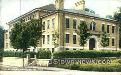 Glenwood School - Malden, Massachusetts MA Postcard