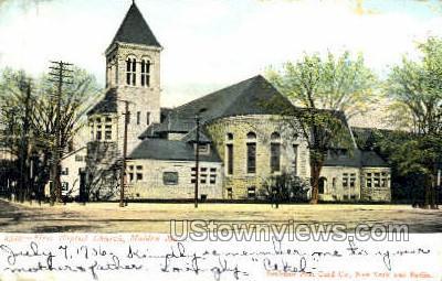 First Baptist Church - Malden, Massachusetts MA Postcard