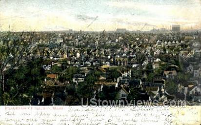 Malden, Massachusetts, MA Postcard