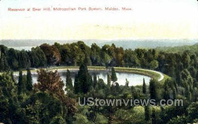 Metropolitan Park System - Malden, Massachusetts MA Postcard