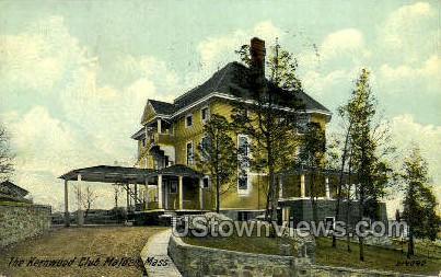 The Kernwood Club - Malden, Massachusetts MA Postcard