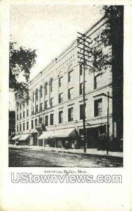Auditorium - Malden, Massachusetts MA Postcard