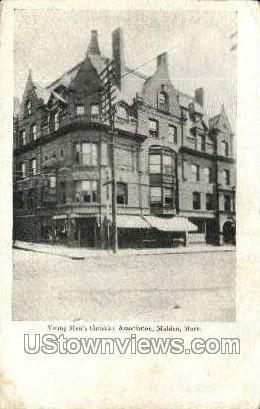 Young Mens Christian Association - Malden, Massachusetts MA Postcard