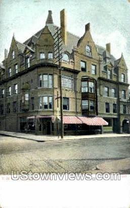 Y.M.C.A. Building - Malden, Massachusetts MA Postcard