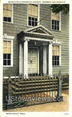 Marblehead Historical Society - Massachusetts MA Postcard