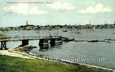 Eastern Yacht Club Float - Marblehead, Massachusetts MA Postcard