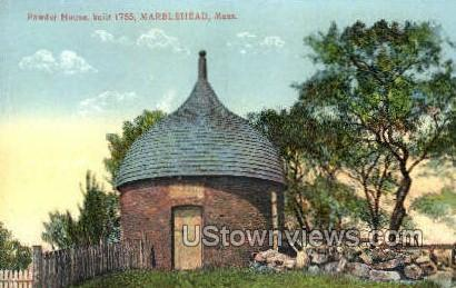 Powder House - Marblehead, Massachusetts MA Postcard