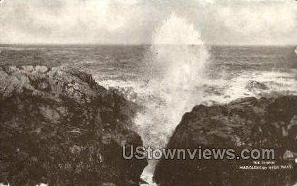 The Churn - Marblehead, Massachusetts MA Postcard