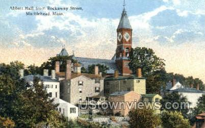Abbott Hall - Marblehead, Massachusetts MA Postcard