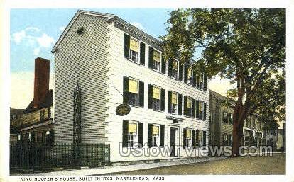 King Hooper's House - Marblehead, Massachusetts MA Postcard