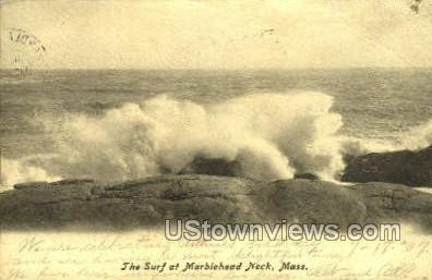 The Surf - Marblehead, Massachusetts MA Postcard